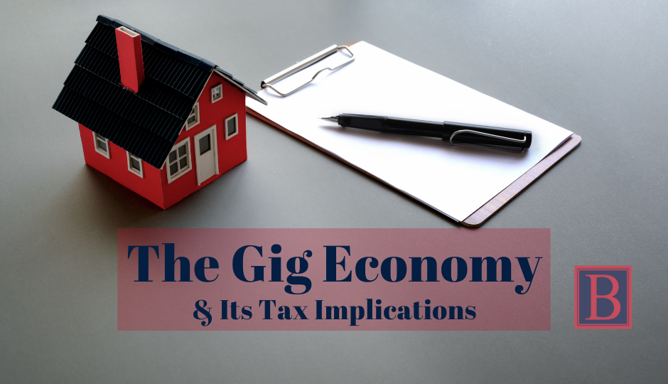 The Gig Economy & Its Tax Implications