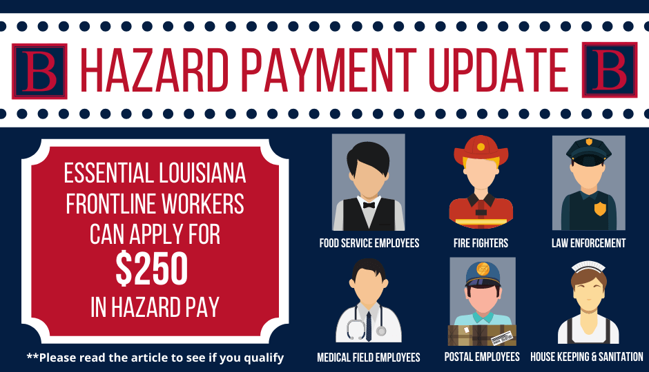 Hazard Pay Update