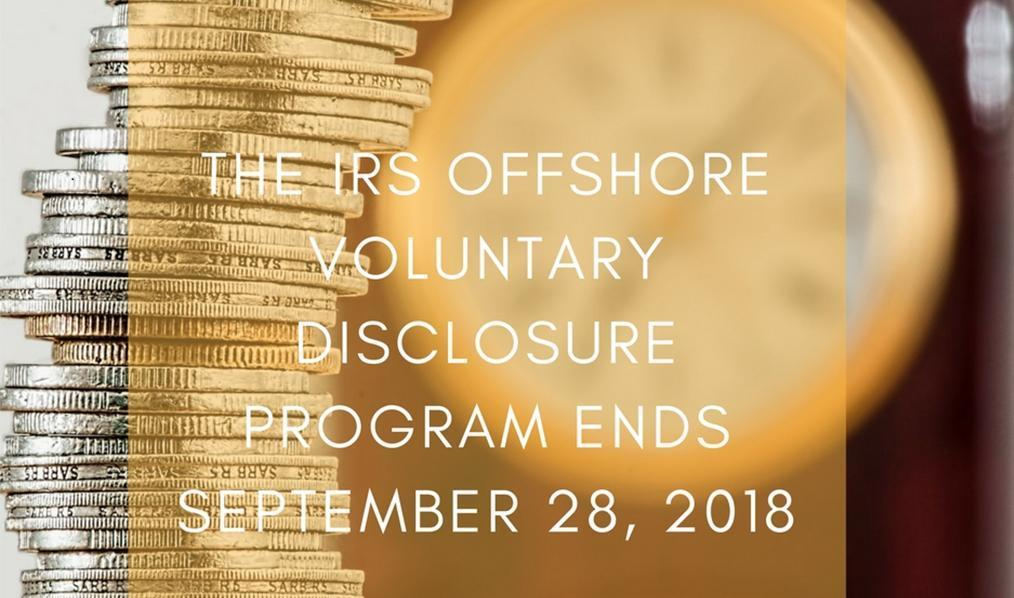 The IRS Offshore Voluntary Disclosure Program