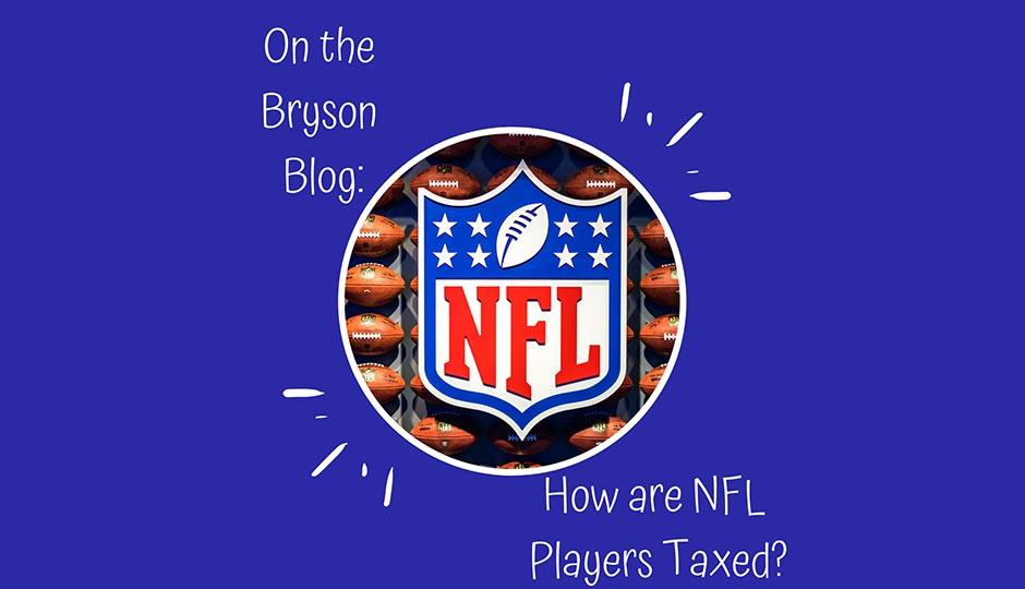 How are NFL Players Taxed?