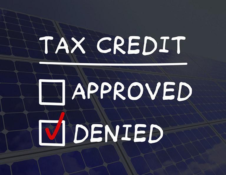 bungled tax credit program