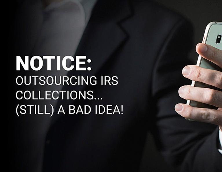 Outsourcing IRS Collections