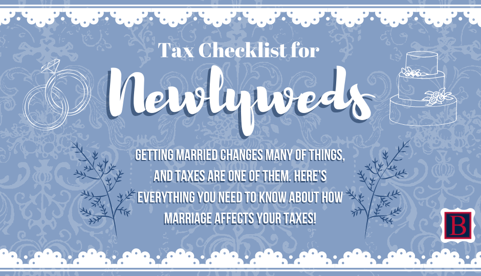 Tax Checklist for Newly Married Couples